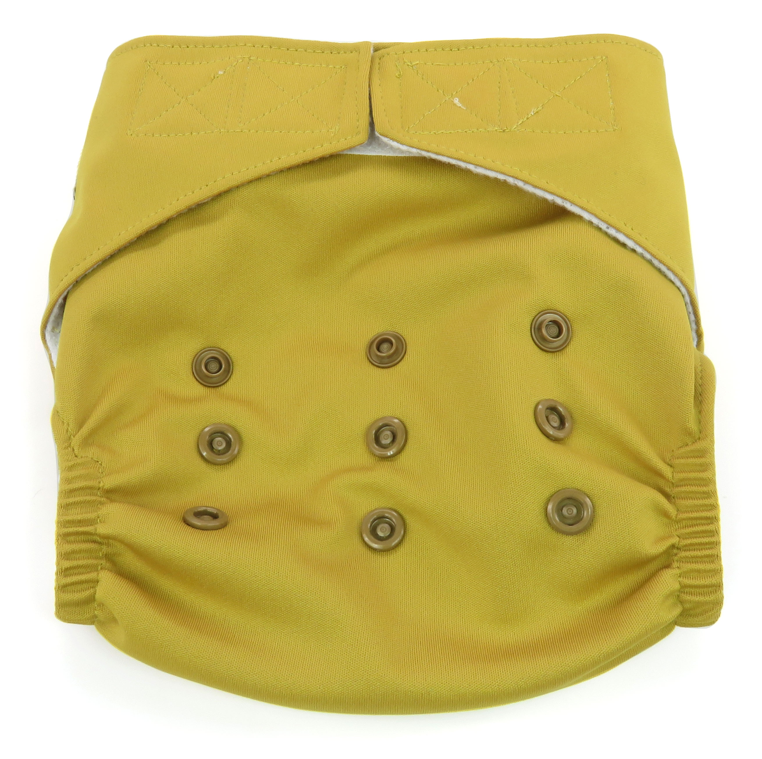 Dandelion Diapers Diaper Cover Shell with Hook and Loop - Compare to Grovia Diaper Covers - One Size - Parsnip