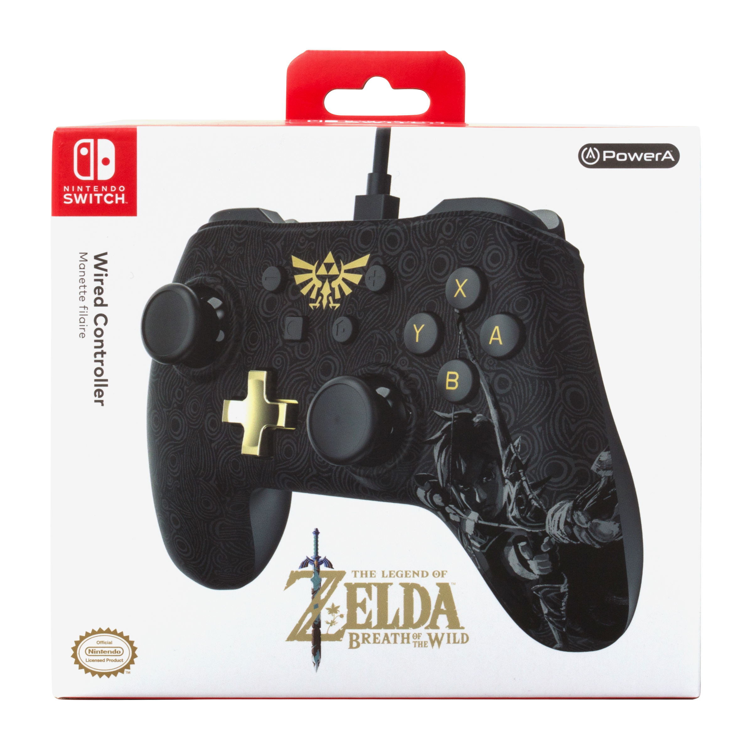 Powera Wired Controller For Nintendo Switch Zelda Breath Of The Wild Walmart Com Walmart Com