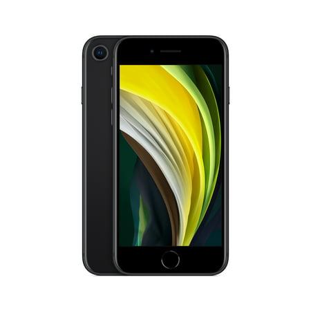 Unlocked Apple iPhone SE (2020) w/ 64GB, Black