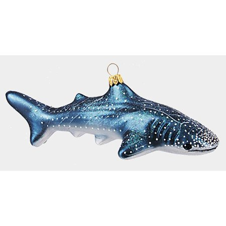 Whale Shark Ocean Life Polish Mouth Blown Glass Christmas Ornament  Decoration - Walmart.com - Whale Shark Ocean Life Polish Mouth Blown Glass Christmas Ornament
