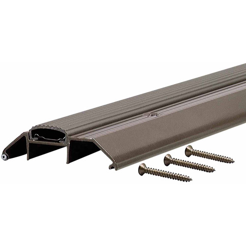 "M-D Products 10017 36"" Bronze High Boy Thresholds with Vinyl Seal Aluminum"