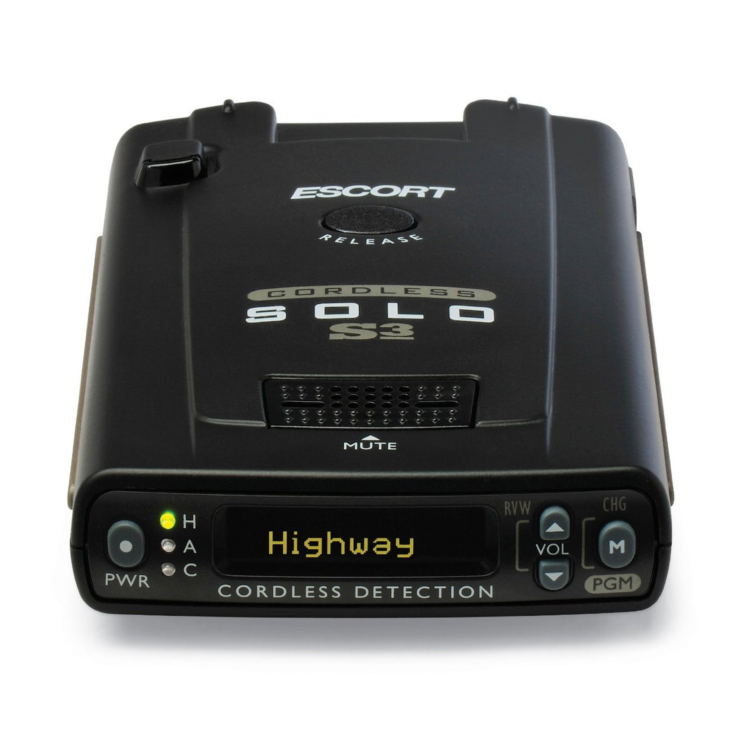 Buy Escort Solo S3 Long Range Cordless Programmable Police Car Laser Radar Detector by Escort