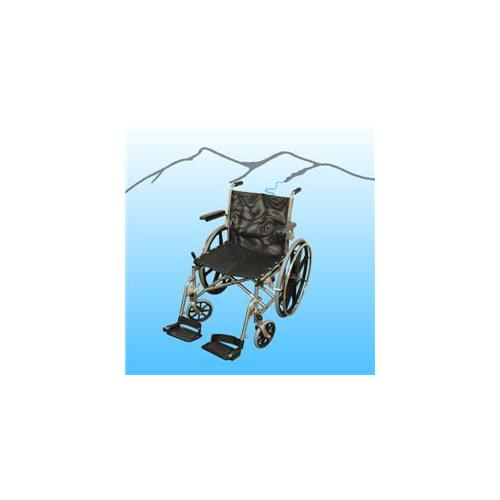 Aqua Creek F-052SSWC 18 inch SS HD Folding Aquatic Wheelchair