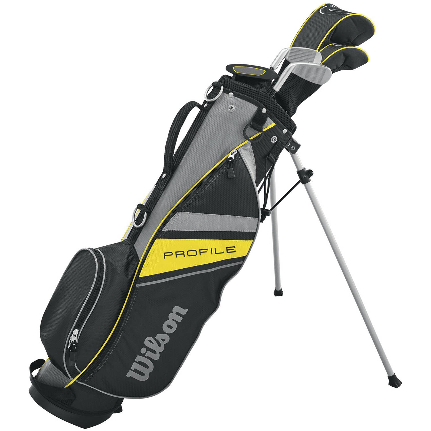 Wilson Profile JR Package Golf Set, Medium, Right Handed, Medium, For Ages 7-10 by Wilson Sporting Goods Co.