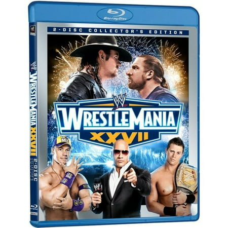 WWE: Wrestlemania XXVII (Collector's Edition) (Blu-ray) (Full