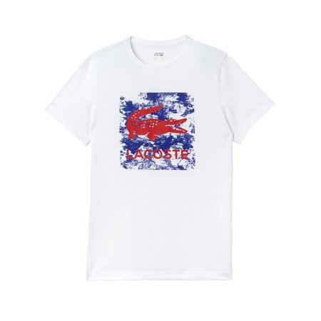 Lacoste Men Sport Tennis Print Technical Jersey T-Shirt