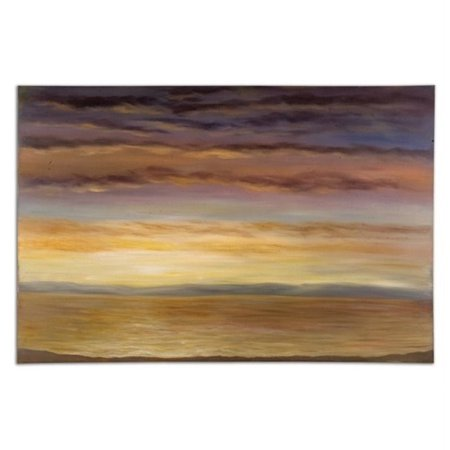 Uttermost Ious Skies Hand Painted Frameless Canvas Wall Art