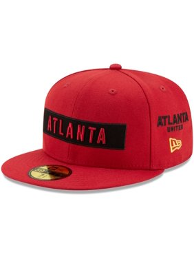 Atlanta United FC New Era Multi 59FIFTY Fitted Hat - Red