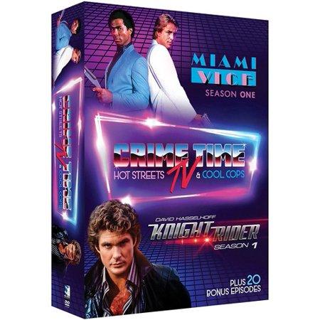Rider Knight - Crime Time TV: Hot Streets & Cool Cops: Miami Vice: Season One / Knight Rider: Season One (DVD)
