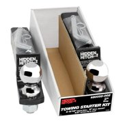 "Hidden Hitch Towing Starter Kit, w/Quick-Loading 2"" Sq. Ball Mount 80058-002"