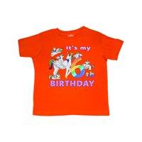 It's My 6th Birthday Unicorn Toddler T-Shirt