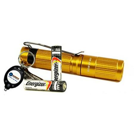 ITP - A3 EOS 130 Lumens Keychain LED Flashlight with 2x Energizer ... 86ace4045