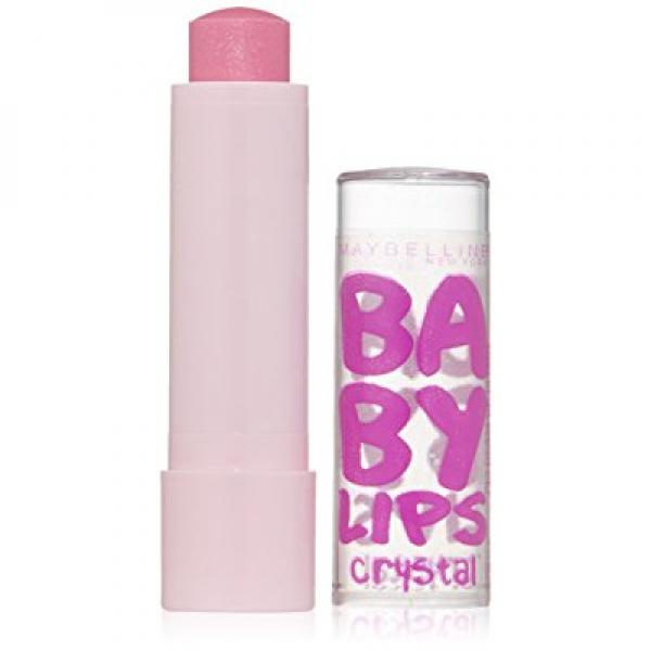 Maybelline New York Baby Lips Crystal Lip Balm, Beam of Blush, 0.15 Ounce