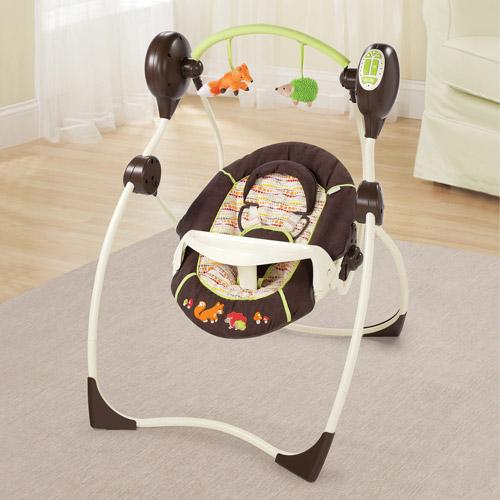 Summer Infant Sweet Sleep Musical Swing, Fox & Friends