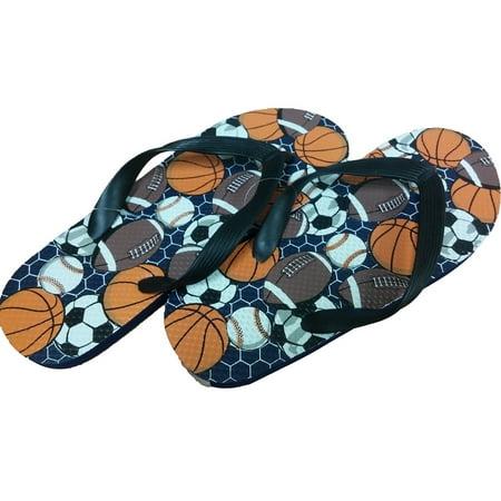 bd1bff26c6d Tek Gear - Tek Gear Boys Flip Flops Shower Shoes Summer Sandals - Walmart .com