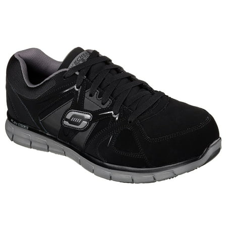 Skechers Work Mens Synergy Ekron Alloy Toe Safety Shoes