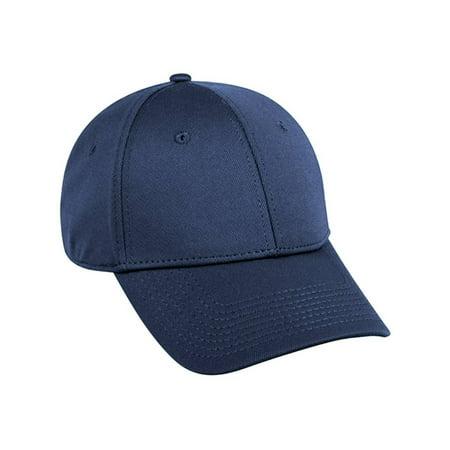 961f4b2900 Flex Fitted Baseball Cap Hat - Navy Blue
