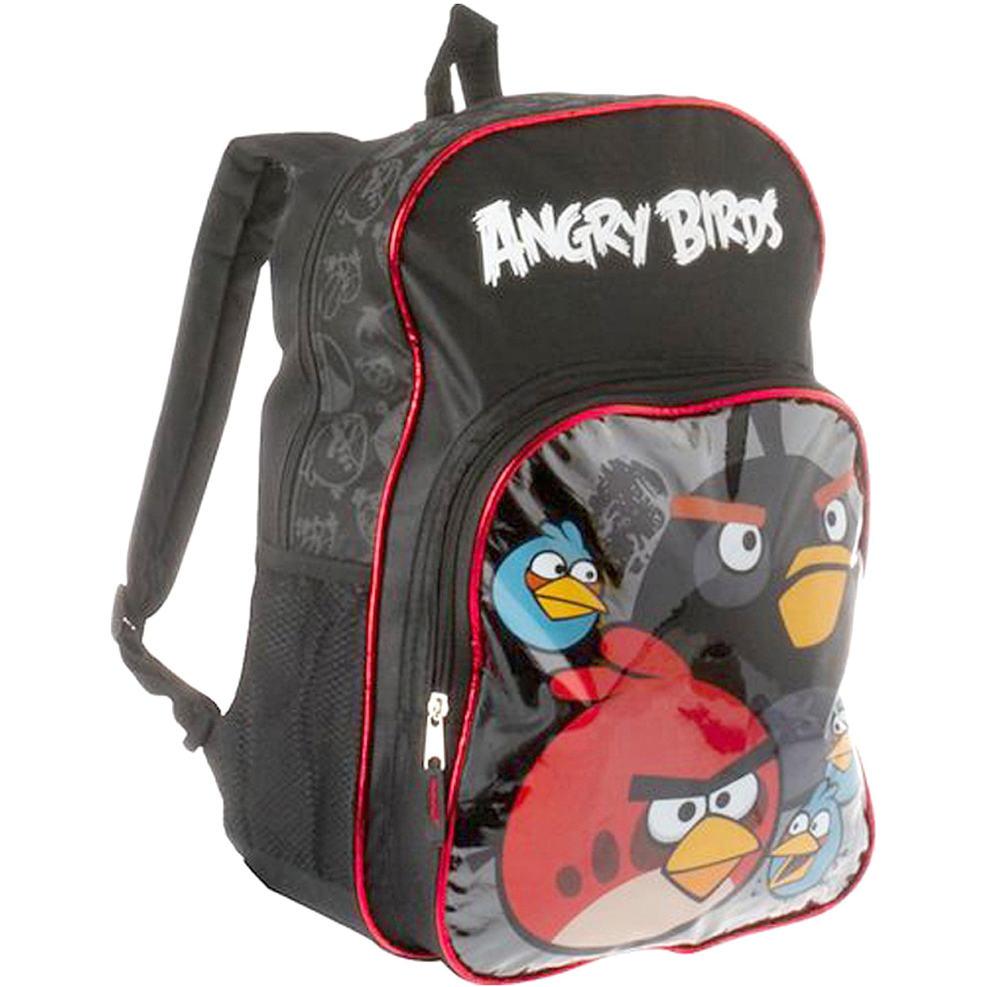 73701fecf34b Angry Birds 16 Inch Backpack - Walmart.com