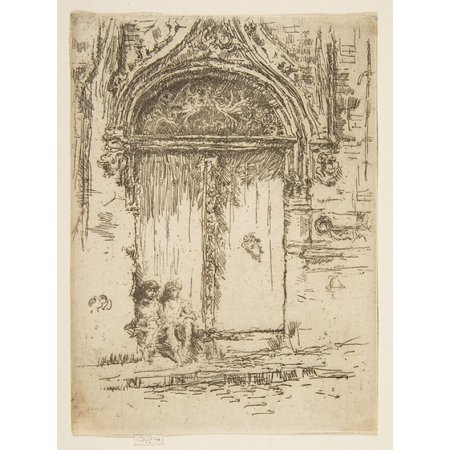 Hangmans House Tours Poster Print By James Mcneill Whistler  American Lowell Massachusetts 1834   1903 London   18 X 24