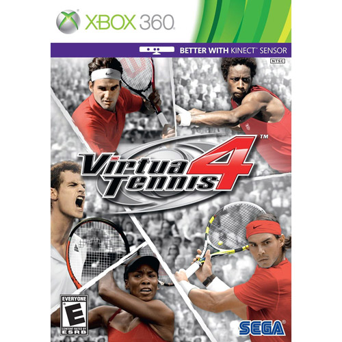 Virtua Tennis 4  Kinect  (Xbox 360) - Pre-Owned