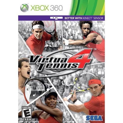 Virtua Tennis 4  Kinect  (Xbox 360) - Pre-Owned