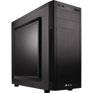 "Corsair Carbide Series 100R Mid-Tower Case - Mid-tower - Black - Steel - 6 x Bay - 2 x 4.72"" x Fan(s) Installed - 0 - ATX, Micro ATX, Mini ATX Motherboard Supported - 10.58 lb - 5 x Fan(s)"