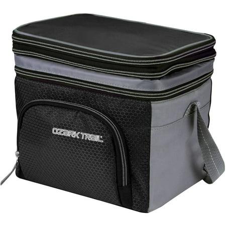 Ozark Trail 6 Can Cooler With Removable Hardliner Black
