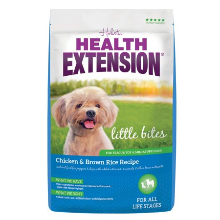 Little Bites Chicken & Brown Rice Recipe, 10-Pound, 10-Pounds Of Dry Dog Food - Health Extension Little Bites Chicken & Brown Rice Recipe Dry Dog Food Is.., By Health Extension](Little City Dogs)