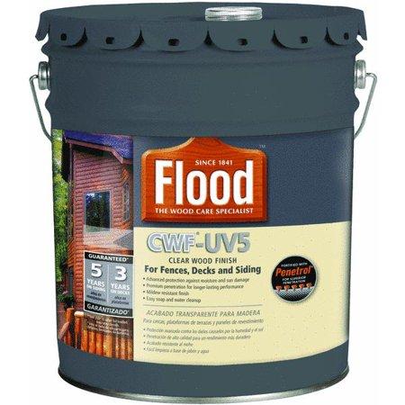 Flood cwf uv5 pro series wood finish exterior stain for Exterior wood stain flood