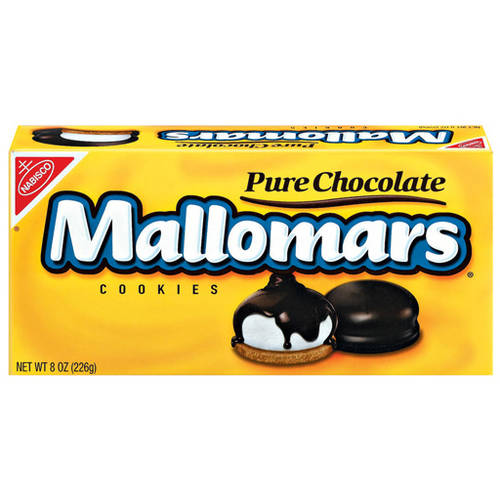 Nabisco Mallomars Pure Chocolate Cookies, 8 oz