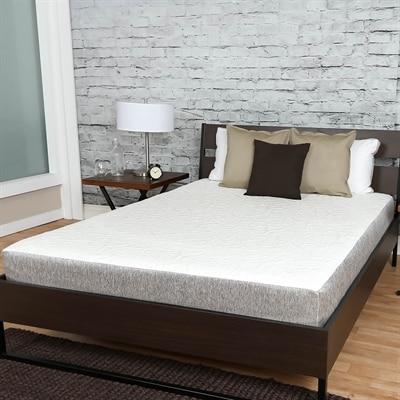 Premier Sleep Products US08 Embrace 8-in Medium Firm Memory Foam Mattress