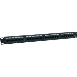 24PORT STRAIGHT P/P 1U UTP NON-TERMINATED PATCH PANEL (Best Non Cable Options)