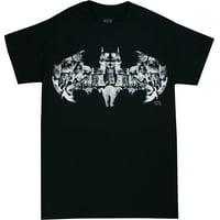 Batman Cat Logo Men's Black Shirt