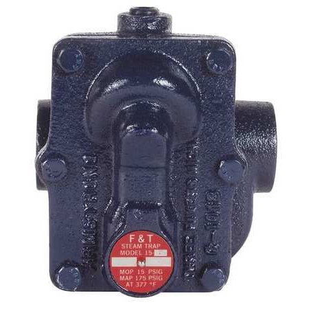 Armstrong International 15Bi3 Steam Trap  15 Psi  353F  5 1 2 In  L