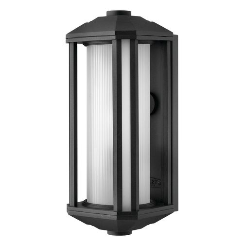 """Hinkley Lighting 1390 15"""" Height 1-Light Lantern Outdoor Wall Sconce from the Castelle Collection"""