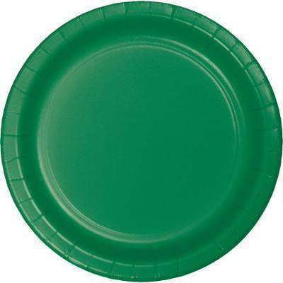 Creative Converting Emerald Green Paper Plates, 75 ct