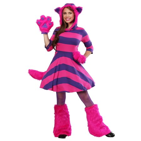 Cheshire Cat Women's Costume](Cheshire Cat Rave Costume)