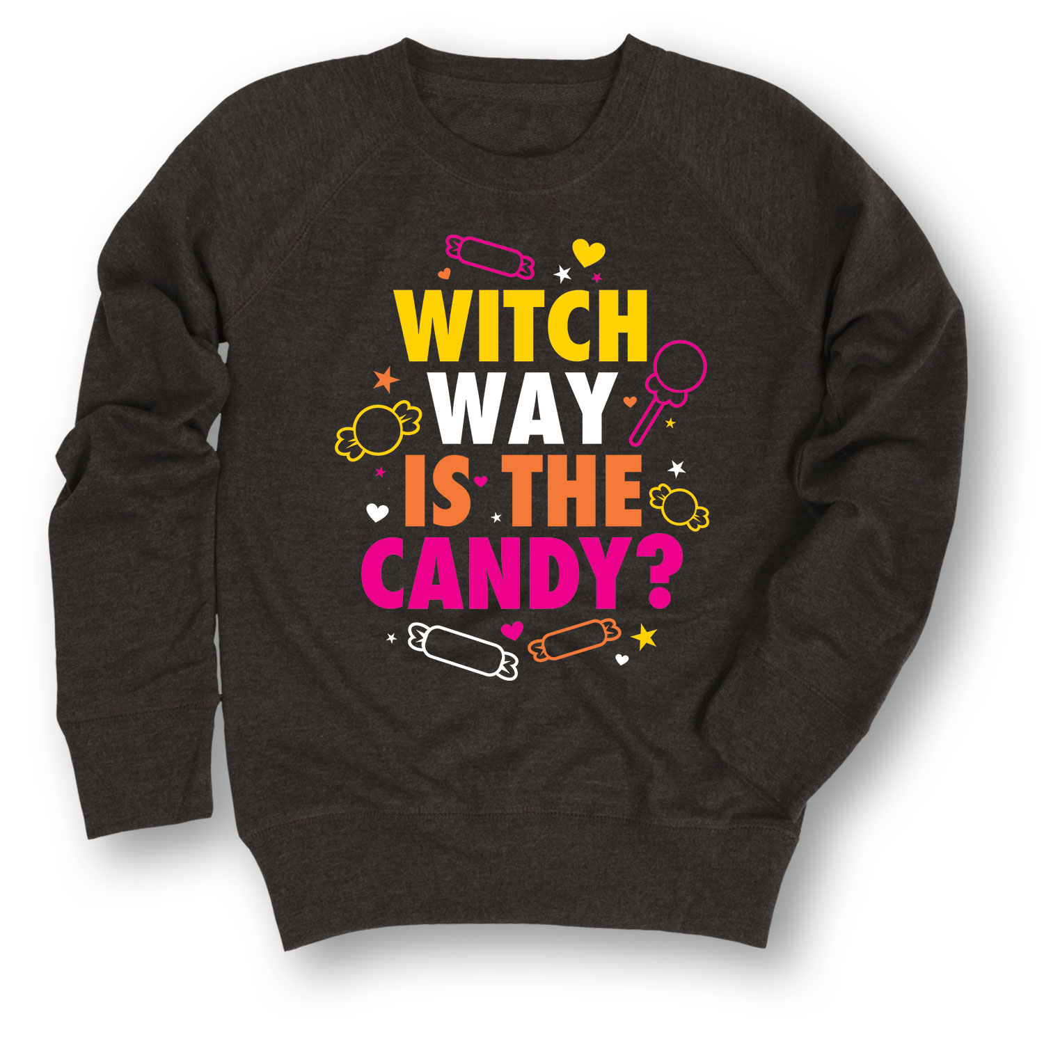 Witch Way Is The Candy YOUTH GIRLS SLOUCHY FT