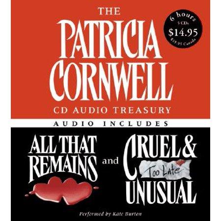 Kay Scarpetta Mysteries: The Patricia Cornwell CD Audio Treasury Low Price (Audiobook)](Low Price Website)