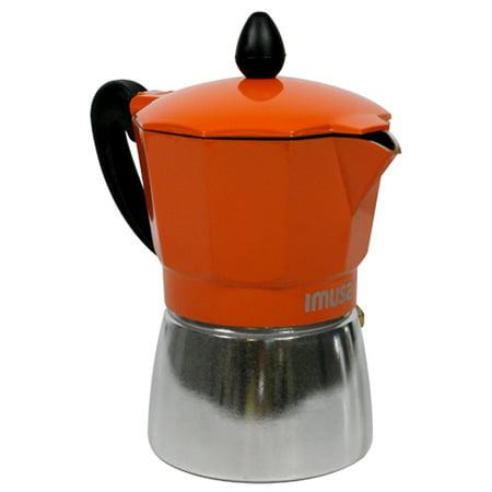 Cuban Coffee Maker Aluminum Construction 3 Cup