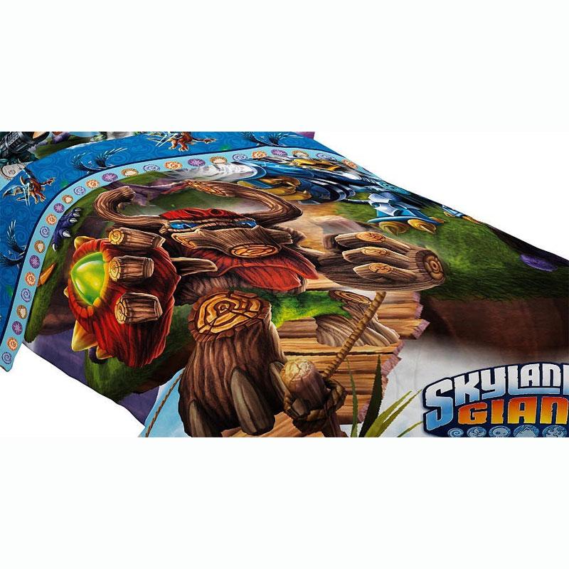 Skylanders Comforter Set Energy Conquers Bedding