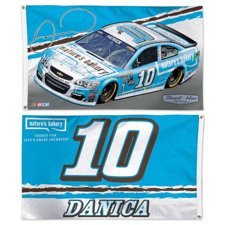 Danica Patrick Natures Bakery Two Sided Flag