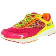 Fila Women's Memory Maranello 2 Pink Glow/Shock Orange/Safety Yellow Low Top Running Shoe - 7.5M