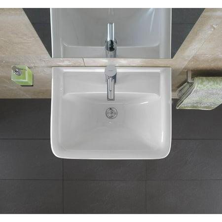 Bissonnet Renova 22 Wall Mount Bathroom Sink With Overflow