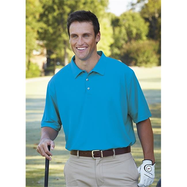 Bermuda Sands 721 Mens Breeze Performance Polo - Turquoise, Extra Large