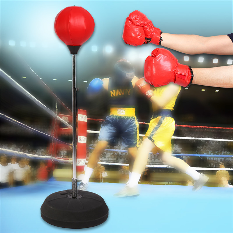 Boxer releases stress previous to fight