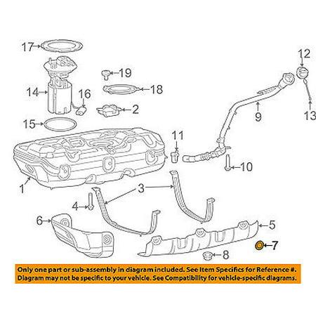 - Ram CHRYSLER OEM ProMaster City Fuel System-Tank Shield Retainer 68268735AA