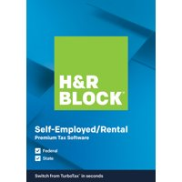H&R Block Tax Software Premium 2019