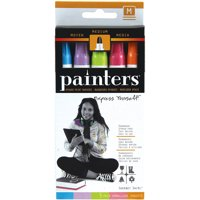 Painters Opaque Sherbet Swirl Medium Point Paint Markers, 5 Count