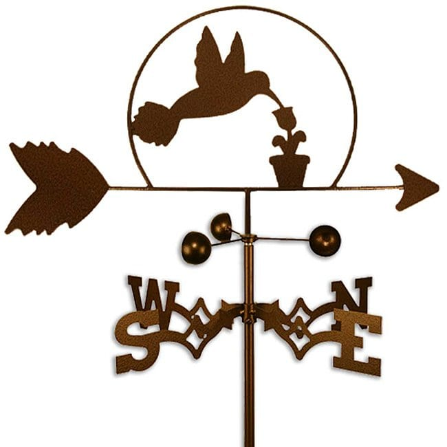 SWEN Products Inc Handmade Hummingbird Weathervane by Overstock
